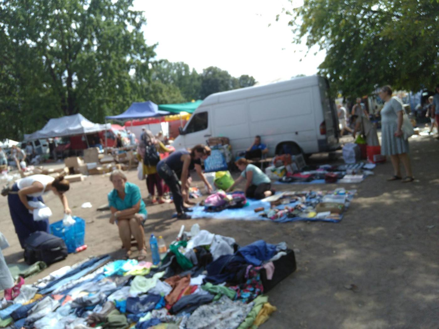 תיק וורשה: השוק העממי אולימפיה (Olimpia)