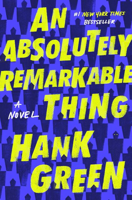 הכרזת מפגש מועדון הקריאה: An Absolutely Remarkable Thing  – האנק גרין
