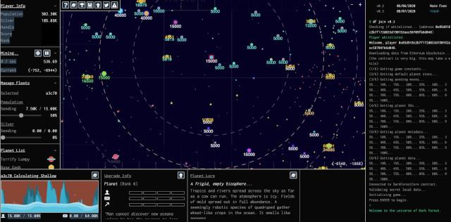 יומיות 27.02.2021: Dark Forest, משחק מבוסס קריפטוגרפיה ובלוקצ'יין